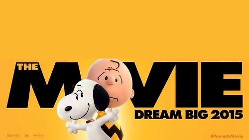 Snoopy And Charlie Brown The Peanuts 2015 Movie Wallpaper