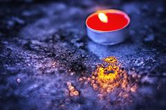 when I lose my faith, hope and love... (Smo_Q) Tags: light ice night flame sigma50f14 pentaxk5