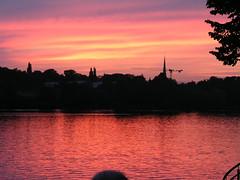 Sonnenuntergang vom Steg