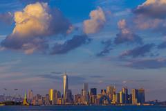 Sunkissed Manhattan (Brandon Taoka) Tags: nyc sunset manhattan pwlandscape canon70d