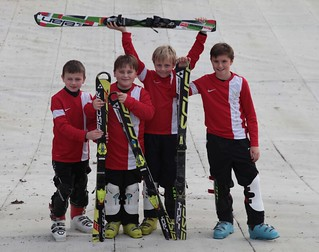 Jonny, Hamish, Alex and Harvey u12  esskia national champions for Norwich School