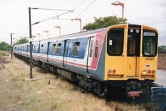 315 001 (Sparegang) Tags: class315 romford 315801 upminsterbranch geemu emu networksoutheast britishrail easternregion greateastern
