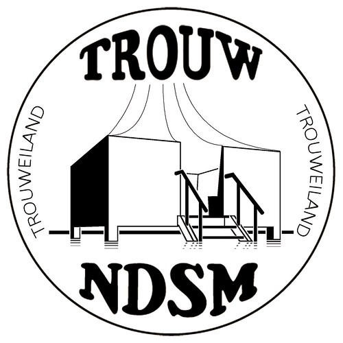 "logo Trouweiland NDSM z/w • <a style=""font-size:0.8em;"" href=""https://www.flickr.com/photos/129725436@N07/16588492031/"" target=""_blank"">View on Flickr</a>"