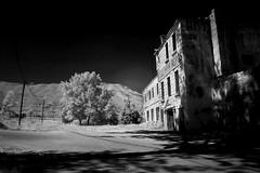 A Haunted Mon Repos (jrseikaly) Tags: old bw lebanon white black building abandoned architecture jack photography hotel infrared mon arz bnw cedars repos seikaly jrseikaly