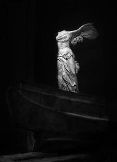 Victoria de Samotracia... (Serie Estatuas del Louvre) Explored 17/05/2016