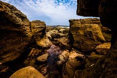 Gulley (Richard_Turnbull) Tags: sea church pool coast nikon rocks northumberland northeast rockpool gully bartholomew gulley d600 newbiggin bartholemew