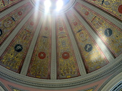 Close-Up of Dome of Lobby of M&T Branch Bank (Autistic Reality) Tags: usa ny newyork building architecture america buildings us office buffalo mt unitedstates unitedstatesofamerica structures bank center upstateny structure upstatenewyork newyorkstate banks offices nys nystate westernnewyork wny beauxarts eriecounty centers westernny mtbank stateofnewyork goldome buffalosavingsbank greenwicks fountainplaza cityofbuffalo mtcenter mtbankbranch 1fountainplaza