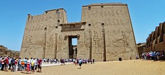 Edfu Temple Egypt (amhjp) Tags: history temple nikon egypt historic unescoworldheritagesite unesco worldheritagesite nile egyptian historical valleyofthekings attraction hieroglyphics worldheritage abusimbel edfu historicbuildings egyptians nilecruise unsesco nikondslr amhjpphotography amhjp