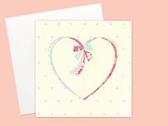 Unisex Heart cards set (Kata Kiosk) Tags: love illustration paper design heart mail handmade mint snail artsy card illustrator crafty greetingcard stationery greeting stationary snailmail penpal paperie penpalling snailmailer