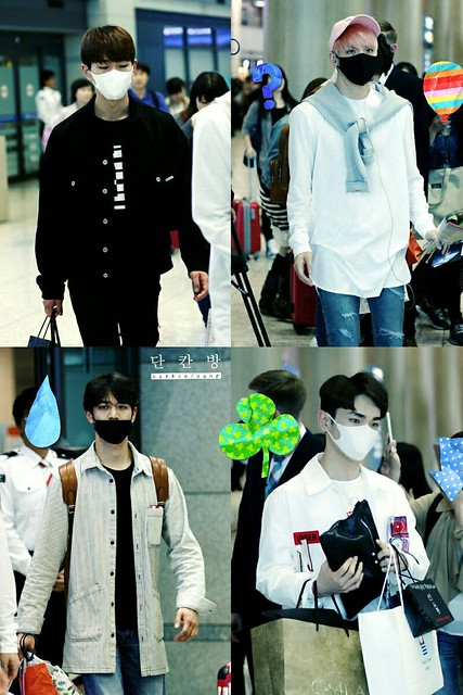 160425 SHINee @ Aeropuerto de Incheon {Llegada a Corea} 26789825606_748143b0b5_z