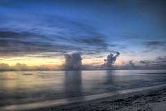 Bajan sunset (oldkentucky85) Tags: sunset sea sky cloud beach sand surf horizon carribean atlantic formation tropical dreamy bliss