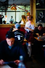 Halloween Waitress @ Wellington, NZ (rick0530) Tags: street leica newzealand color colour halloween 50mm streetphotography wellington noctilux waitress f095 2015 leicaphotography colorstreetphotography noctilux095 leicaphotographer leicam240 rick0530 rick0530com leica50mmnoctiluxf095asph streetsinwellington