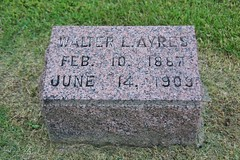 0U1A8130 Knoxville IA - Graceland Cemetery - INGLEFIELD AYRES (colinLmiller) Tags: monument knoxville headstone tombstone iowa gravestone ayres gracelandcemetery 2016 inglefield