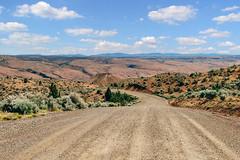 Desert Canyon Romp (Explore) (Pedalhead'71) Tags: road oregon landscape us unitedstates desert dayville cottonwoodcanyon