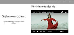 "Y-YHTYE ""Minne Tuulet Vie"" en SIELUNKUMPPANITT http://ift.tt/25OTArU Vdeo en YouTube https://youtu.be/u-RuV42TMsg Vdeo en VEVO http://ift.tt/1O30CNB 3.40TV MIJAS Noticias https://youtu.be/Q_vWTig_kFk MIJAS International TV https://youtu.be/pVomI3rx1jw (MIJAS NATURAL) Tags: color eye beauty radio hair book makeup andalucia bodypaint semi nails massage solarium hairdresser laser shellac artdeco lpg portfolio bodyart hairstyle unisex malaga facial imagen lash belleza fuengirola torremolinos marbella mijas permanent corporal extensions plataforma redken beautician stylist peluqueria frequency permanente maquillaje pestaas uas benalmadena estetica carita masaje estilismo extensiones environ ghd kerastase esthetic nutricion radiofrecuencia mesotherapy endermologie dietetica esteticista fotodepilacion micropigmentation mesoterapia vibratoria micropigmentacion photoepilation"