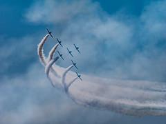 Breitling Jet Team (C@mera M@n) Tags: ny newyork airplane outdoors us unitedstates places longisland airshow jonesbeach memorialday wantagh breitlingjetteam stuntteam bethpageairshow