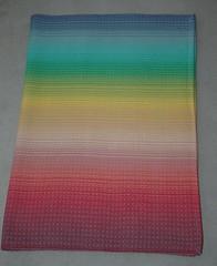 Enchanted Forest 3 (La Maison des Fibres) Tags: silk merino coton cotton handpainted soie handwoven handdyed twill tissage mrinos serg teintlamain tissmain