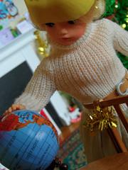 Sindy's Christmas Day - 28 (misssindy) Tags: christmas doll dolls marx 16 gayle diorama pedigree sindy