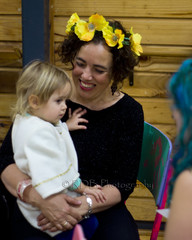 Toddler Time 1 (C & R Driver-Burgess) Tags: baby girl smile happy spread toddler fingers daughter mother sunflowers rest hold