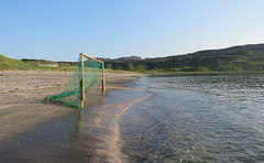 Football, anyone? (Rodents rule) Tags: scotland highlands goalposts eigg bayoflaig