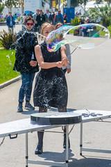 DSC_0324 (sergeysemendyaev) Tags: show children fun happy spring russia adler bubbles iridescent olympicpark sochi 2016   bigbubbles         sochiautodrom soapbubblesshow
