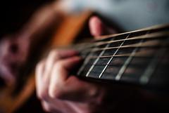 267/365 Igor Jam (ewitsoe) Tags: city blue urban musician music playing man rock hands play bokeh guitar fingers guitars jazz poland polska musical instrument acoustic classical strings 365 jam strum poznan bigfootcoffeeshop