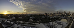 the city (bart.kwasnicki) Tags: city sunset sky panorama skyline cityscape c sydney australia bluesky olympus nsw omd