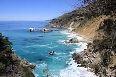 Big Sur coastline (oriana.italy) Tags: california usa pacificocean coastline bigsure img0193