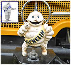 The Michelin Man..( Bibendum ) (** Janets Photos **) Tags: uk mercedesbenz mascots vintagetractors michelintyres