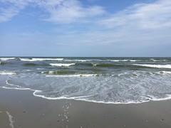 Atlantic City, May 2016. (marilora) Tags: ocean beach newjersey sand waves shore atlanticcity breakers jerseyshore