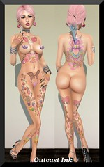 Post #586 (Outcast INK) Tags: mandala uber belleza catwa glitteratiposes insufferabledastard wowskins realevilindustries kccouture chemicalprincess truthhairapparel thewomenonlyhunt1