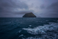 Ltla Dmun (West Leigh) Tags: ocean blue sea cold water weather clouds island dream stormy atlantic explore experience faroeislands isolated faroe discover