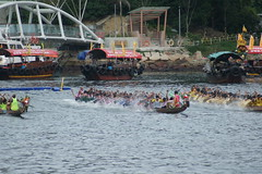 DSC09017 (rickytanghkg) Tags: sports hongkong asia outdoor sony sunny aberdeen dragonboatfestival a550 sonya550