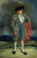 Ignacio Zuloaga Zabaleta: El Chepa de Quismondo (1944) (lyceo_hispanico) Tags: man spain 20thcentury matador torero espaanegra privatecollection ignaciozuloaga pinturaespaoladelsigloxx