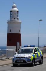 Royal Gibraltar Police (999 Response) Tags: lighthouse ford point europa royal police gibraltar kuga g1403d