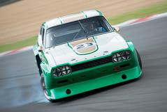 Brace yourself!!! (Photo Lab by Ross Farnham) Tags: ford capri nikon racing masters drama motorsport revival