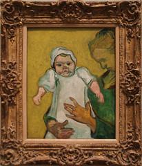 Vincent van Gogh - Madame Roulin and Her Baby 1888 (ahisgett) Tags: new york art museum met metropolitian
