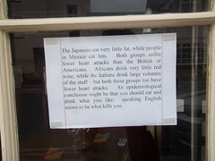 Food critic (doojohn701) Tags: africa wood uk italy food window japan shop america mexico interesting chairs furniture bistro tables statement critic foreign cloths swanage