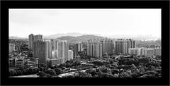 TWB_1152 (xxtreme942) Tags: bw monochrome blackwhite nikon singapore hill architectural highrise block hdb housingestate nikon70200mm