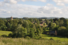 South Petherton from Mere Lynches (stevekeiretsu) Tags: uk england church somerset