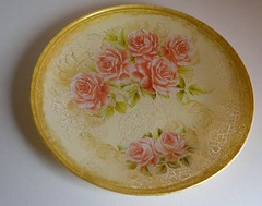 Plate roses (Ptah Art Gallery) Tags: handmade indoor gifts homedecor giftideas
