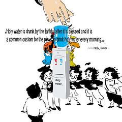 coolerholywater_ (rita_voloh) Tags: ritavoloh illustrator pic mypic water holywater coolerwater draw voloh illustratoin digitel design dezigne picture holy office wiki wikipedia blackline line character disney goofy