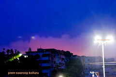 Early-Dawn-to-upload (prem swaroop) Tags: street light night clouds temple dawn lights focus apartments led pollution cumulus daybreak