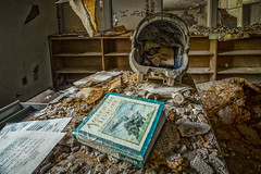 Civics: I Voted! (Entropic Remnants) Tags: pictures abandoned photography photo fuji image photos pics picture pic images photographs photograph fujifilm exploration asylum f4 remnants urbex statehospital entropic xt1 embreeville 1024mm embersville