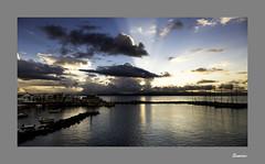 IMA_3480b Sunrise over Naxos (foxxyg2) Tags: blue light sea sky sun seascape water clouds sunrise aegean greece greekislands paros cyclades islandhopping islandlife pisolivadi