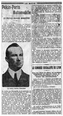 1907-04-02. Le Matin 2 (foot-passenger) Tags: borghese 1907 lematin franais pekinparis    frenchnewspaper bnf gallica bibliothquenationaledefrance itala