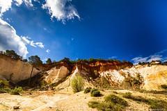 Les ocres de Rustrel: le Sahara Provenal-004 (bonacherajf) Tags: lubron rustrel ocres provence