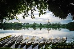 Boats (melvhsc100) Tags: landscape singapore sky reservoir outdoor nikon boat wideangle