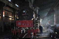 I_B_IMG_7412 (florian_grupp) Tags: china railroad train landscape asia mine desert muslim railway steam xinjiang mikado locomotive ore js steamlocomotive 282 opencastmine yamansu