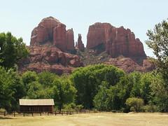 Cathedral Rock (Marc Rodriguez 24) Tags: arizona landscape sedona landmark redrock cathedralrock oakcreekcanyon